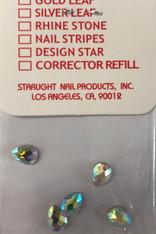 Starlight Nail Art - Big Drop Crystals AB Rhinestones