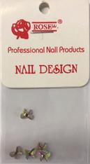 Starlight Nail Art - Bow Crystals AB Rhinestones