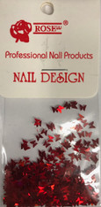 Starlight Nail Art - Red Butterflies (foil)