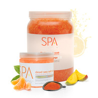 Spa Organics Dead Sea Salt Soak - Mandarin & Mango (128 oz)