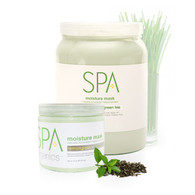 Spa Organics Moisture Mask - Lemongrass & Green Tea (128 oz)