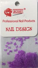 Starlight Nail Art - Purple Butterflies