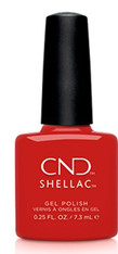 CND Shellac - Devil Red (Cocktail Couture Collection)