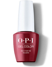 OPI Gelcolor - Red-y for the Holidays (HP M08)