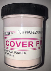 Rose Acrylic Powder - Cover Pink (3oz)