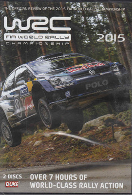 WRC FIA World Rally Championship 2015 DVD - front