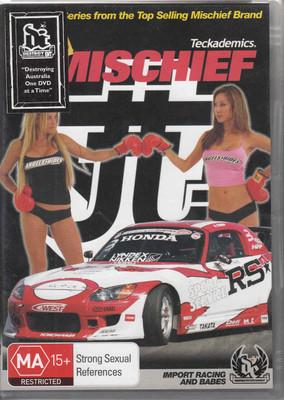 JDM Mischief Teckademics Babes Drifting Racing DVD