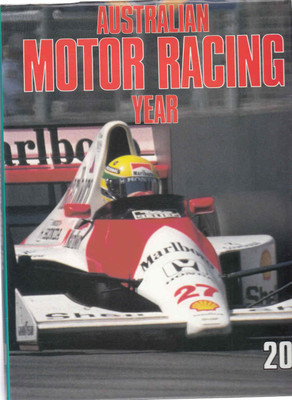 Australian Motor Racing Year Number 20 1990 / 1991 Yearbook (9770158413014)
