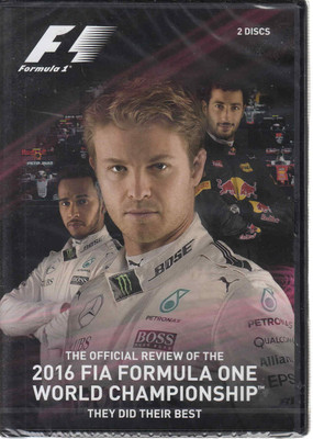 Formula One 2016 Official Season Review DVD (5017559128654 )
