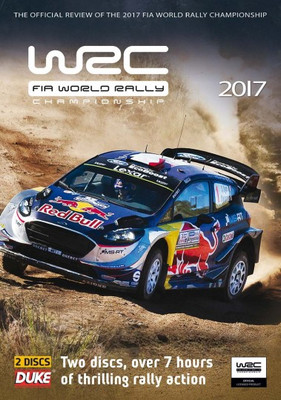 WRC FIA World Rally Championship 2017 DVD