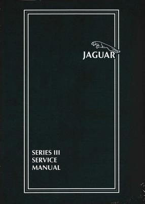 Jaguar XJ6, XJ12 Series 3 (ser. III) Workshop Manual (AKM9006)