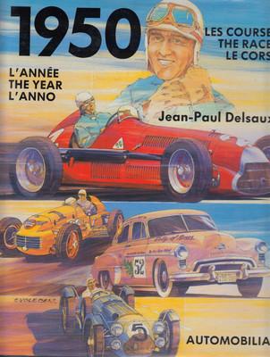 1950: L'annee, The Year, L'anno: Les Courses, The Races, Le Corse (Jean-Paul Delsaux)