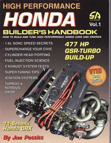 high performance honda builders handbook