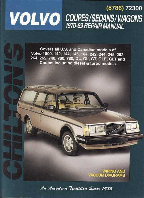 volvo coupes sedans wagons 1970 1989 workshop manual rh automotobookshop com au 2000 Volvo Wagon 2000 Volvo Wagon