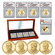 PR70 Grade 2015 Presidential Dollar Proof Set