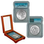 1921 P-Mint Morgan Silver Dollar MS65 Grade
