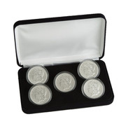 Complete Morgan Dollar Mint Mark Set (5 Coins)