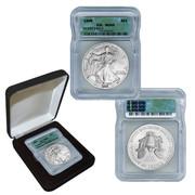 1999 Silver Eagle MS69 in Black Box