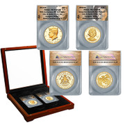 John and Jacqueline Kennedy Gold Set