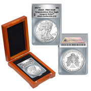 2017 Congratulations S Mint Silver Eagle Proof PR69