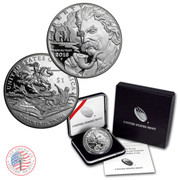 2016 Mark Twain Commemorative Proof Silver  dollar