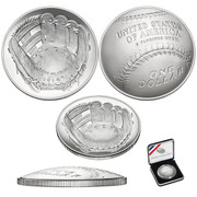2014 Baseball Hall of Fame Commemorative Silver dollar