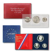 1976 Proof & Uncirculated Silver BiCentennial Coin Set
