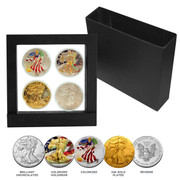 American Silver Dollar Collection - 2018 Lady Liberty 4 Piece Set
