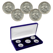 "Franklin ""S"" Mint Mark Silver Half Dollar Collection"