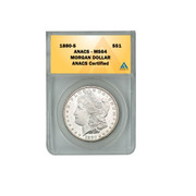 1880-S Morgan Silver dollar MS64