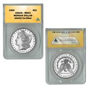 1900-P Morgan Silver dollar MS64