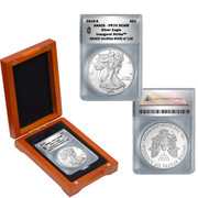 2018-S Silver American Proof Eagle PR70