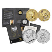 2015 Lyndon B. Johnson Coin and Chronicle Set
