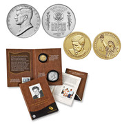 2015 John F Kennedy Coin and Chronicle Set
