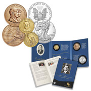 2015 Reagan Coin and Chronicle Set