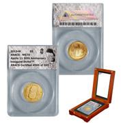 2019-W $5 Gold Coin Apollo 11 50th Anniversary MS70