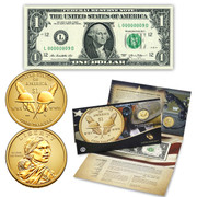 2016 Coin and Currency Set - Code Talkers