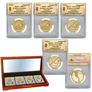 2018 American Innovation  Inaugural Issue 4 coin Set