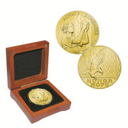 The September 11th Silver Proof National Medal Gold Layered