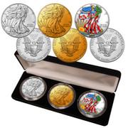 2020  American Silver Eagle Enhanced Collection