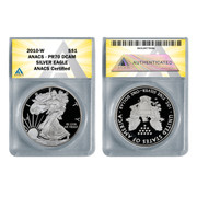 2010 American Proof Silver Eagle PR70