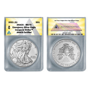 2021 (S) American Silver Eagle MS70 - Emergency ASE Production