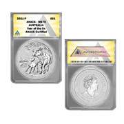 2021 Australia Silver 1oz Lunar Year of the OX  $1 Coin MS70