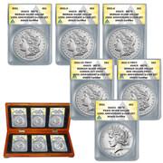 2021 Morgan & Peace Silver Dollar Collection