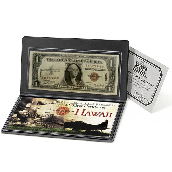 WWII Emergency Hawaii $1 bill