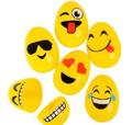 48 PACK Emoji Easter Eggs Bulk | 2.5 59932