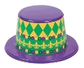Mardi Gras Top Hats | 12 PACK