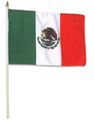 12 PACK Wholesale Mexican Pride Flags 12