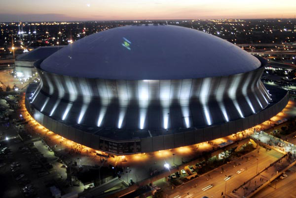 New Orleans Superdome Mercedes Benz
