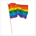 12 PACK Wholesale Rainbow Gay Pride Flags 12